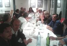 Conferencia y cena